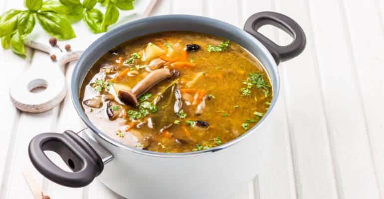 Savory Immune Enhancing Mushroom Soup